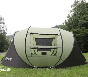 Палатка туристическая на 4-5 человек, автоматическая, выдвижная, самостоятельное вождение, для пляжа, вечеринок