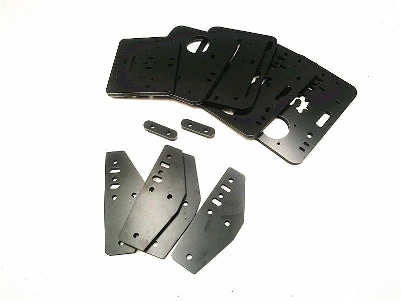 DIY ACRO aluminum composit Plate Set made by CNC 6mm ...