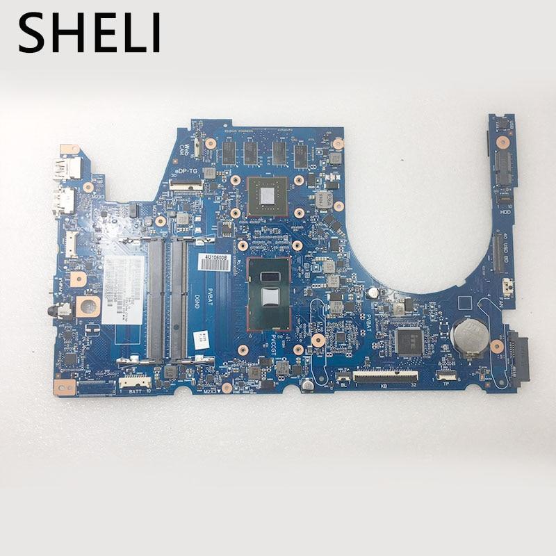 Enthousiast Sheli Voor Hp M7-u009dx M7-u Moederbord Met I7-6500u Cpu Sage-6050a2822001-mb-a01 857297-601 De Mondholte Schoonmaken.