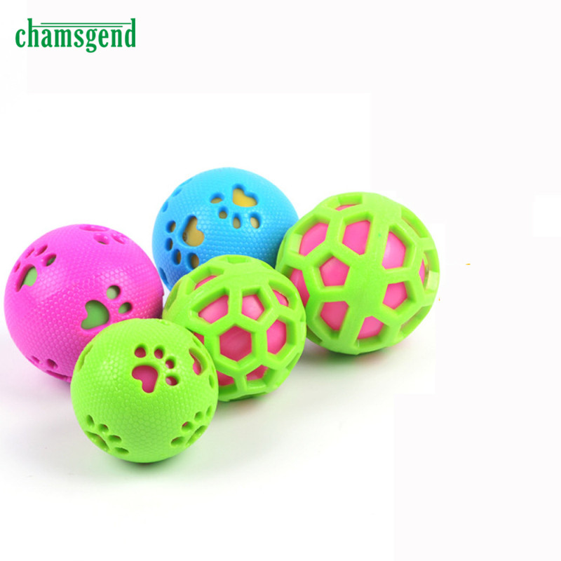 CHAMSGEND Chewing Training Interactive Dog Toy Non-Toxic Pet Tooth Cleaning Playing Chewing Toy 1pc T26