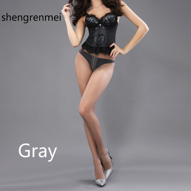 Shengrenmei 2019 Sexy Medias Stockings Summer Thin High Elastic Tights Women Lingerie Nylon Long Thigh Pantyhose 5