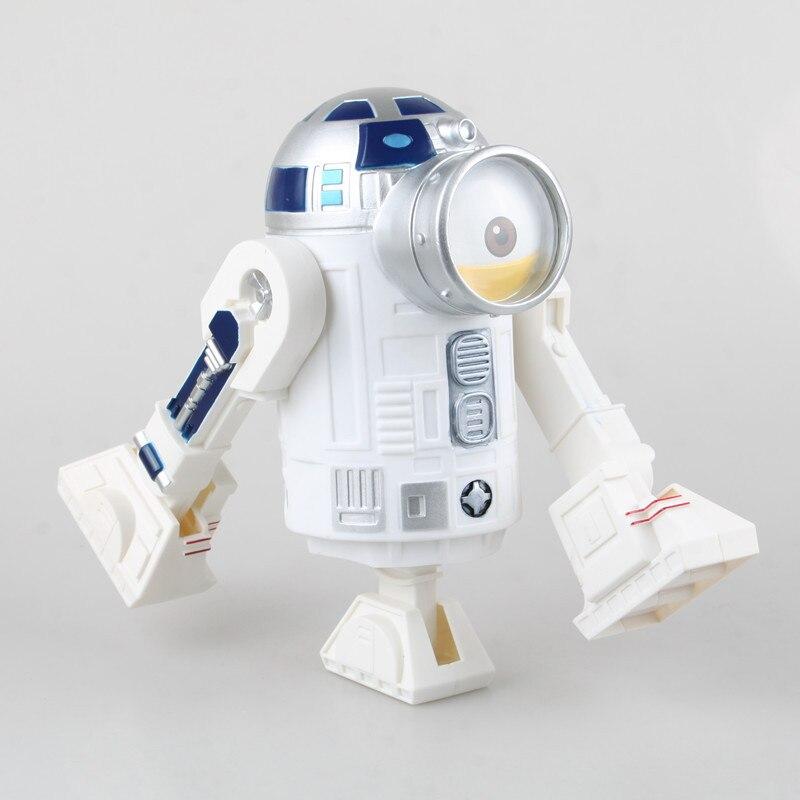 1pcs/set COS R2 BB8 R2D2 Star Wars The Force Awakens Droid Robot  Darth Vader Original PVC 20cm Collection star wars the force awakens bb8 bb 8 droid robot pvc action figure with light sound 5