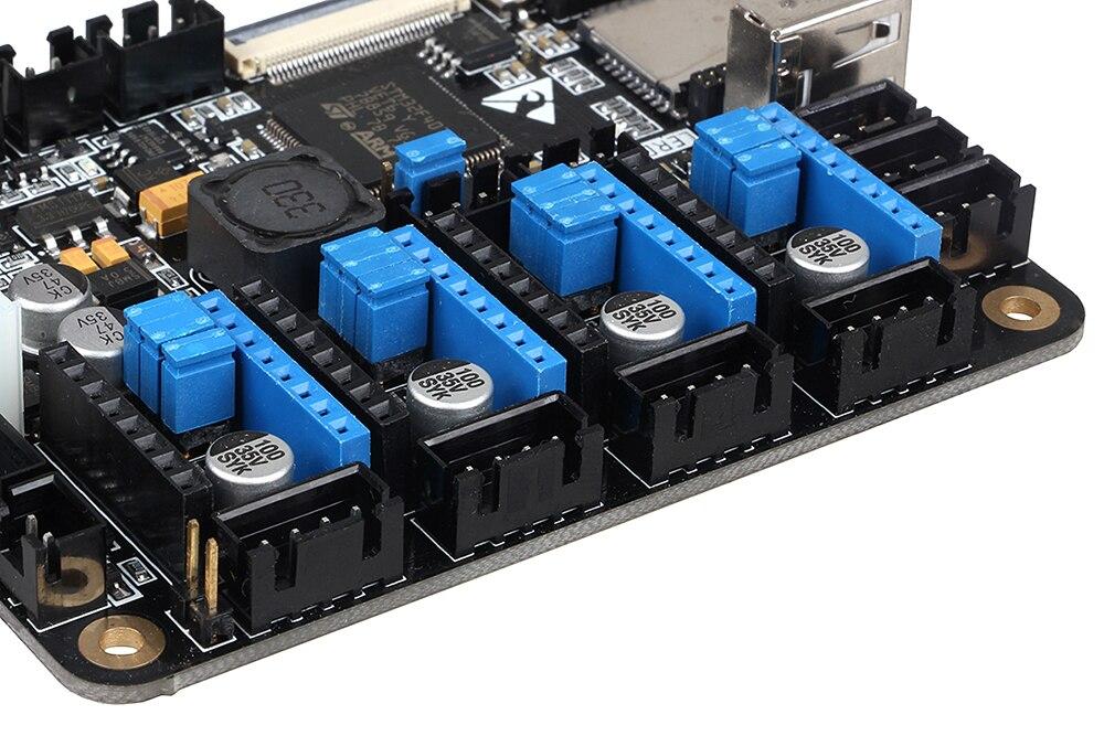 placa controle peças placa-mãe com braço stm32