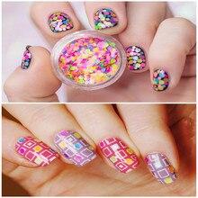Mixed Luminous Nail Art Glitter Decoration