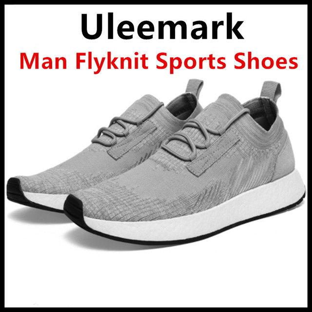 2018 Xiaomi Ecological Chain Brand-Uleemark Man Flyknit Sports Sneaker Shoes E-TPU Sole Flyknit Vamp Anti-Slid For Smart Home