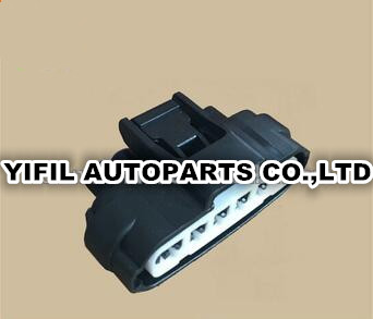 100pcs lot 7283 1968 30 PA66 black 6 pin way ACCELERATOR PEDAL Automotive Connector for Toyota