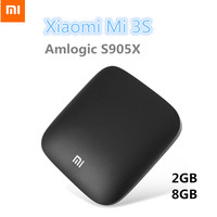 Original Xiaomi Mi 3S TV Box 4K 64bit Android 6 0 2G 8G Media Player Quad