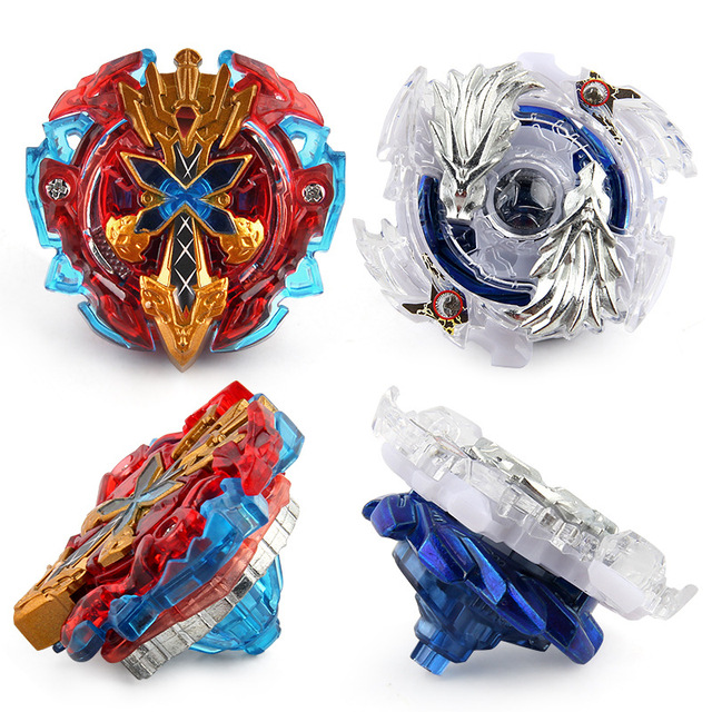 New Finger Gyro Metal Plastic Fusion 4D Spinning Rapidity Beyblades Spin Top Toy Set,Bey Blade Spinner with Launcher Kids Toys