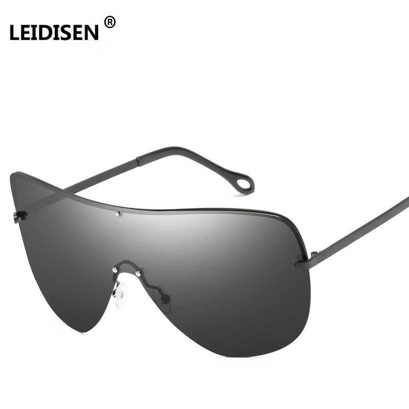 e5751170162 Detail Feedback Questions about LEIDISEN One Piece Big Frame Polarized Sunglasses  Men Classic UV400 Sun Glasses Women Large Frame Outdoor Sunglass Goggles ...