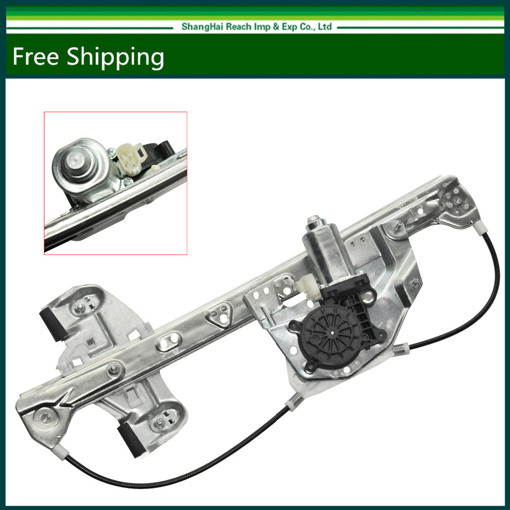 E2c rear right side window regulator with motor for 00 05 cadillac deville oe 741 582 10393233 19244837 gm1551119