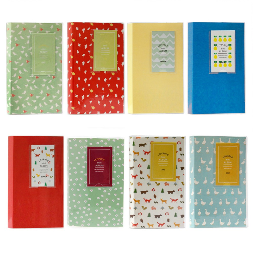 Cute 84 Pockets Album Storage For Polaroid Film Mini Size Photo FujiFilm Instax
