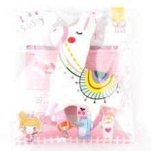 Рождество разноцветные пони снятие стресса душистые супер замедлить рост игрушки эластичный экологически искусственная выжать падение игрушки доставка 7.10