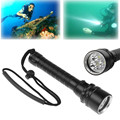 5000LM Professional Underwater Diving Flashlight Torch 3*T6 LED Torch Lantern Lighting Light Lamp For Hunting Diving