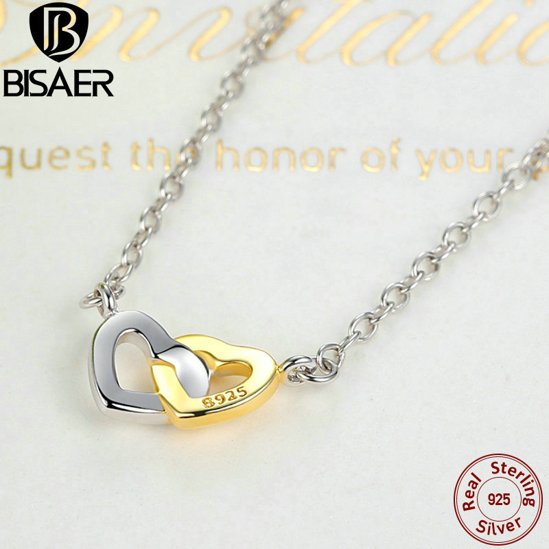 d64309c3f ... canada small necklace 925 sterling silver united in love silver gold  necklace women necklace jewelry edn011 netherlands pandora ...