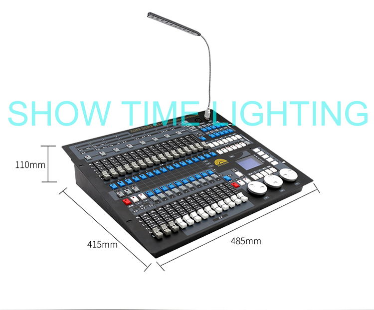 SHOW TIME Kingkong 1024 DMX Controller Stage light DMX console for XLR-3 led par beam moving head DJ light stage effect light