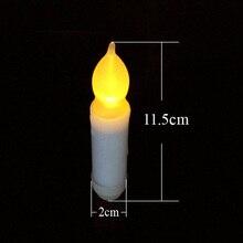 Беспламенная Светодиодная свеча Мерцающая телайт батарея Рождественские Свадебные свечи Декор