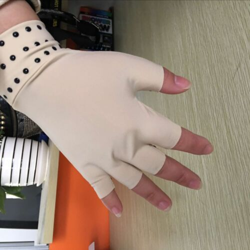 Magnetic Anti Arthritis Health Compression Therapy Gloves Fingerless Gloves Men Women Hot  Gloves