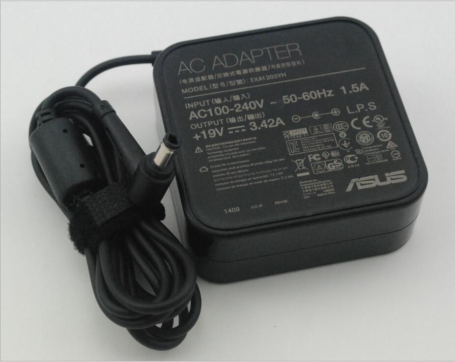 5pcs/lot 19 V 3.42 A square switching power supply 65 W notebook desktop computer supply 5.5*2.5 mm 235g power adapter supply