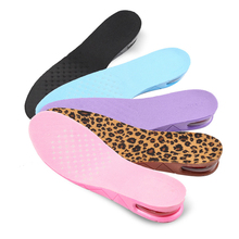 USHINE 3cm Increase Insole Cushion Heightening Height Adjustable Cut Heel Shoe Taller Women Men Unisex Quality Foot Pads