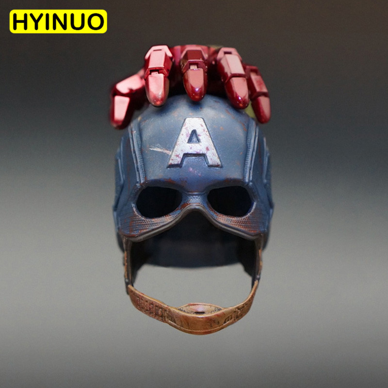 1/6 Scale The Avengers Captain America Steven Rogers Helmet Not Wearable Head Sculpt Headplay for 12 Action Figure Body1/6 Scale The Avengers Captain America Steven Rogers Helmet Not Wearable Head Sculpt Headplay for 12 Action Figure Body