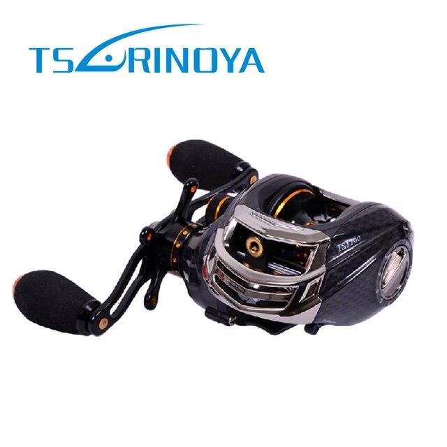 Nouvelle Arrivée! Trulinoya TS1200 14 Roulements GAUCHE Droite Noir 6.3: 1; 209g Appâts Coulée Moulinet De Pêche Baitcaster Magnifique