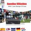 Openbox V8 PRO COMBO Satellite Receiver HD DVB S2 DVB T2 DVB C Twin Tuner Support