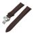 22mm banda de reloj del cuero genuino para samsung gear s3 clásico/frontier butterfly correa de hebilla de pulsera pulsera de la correa negro marrón