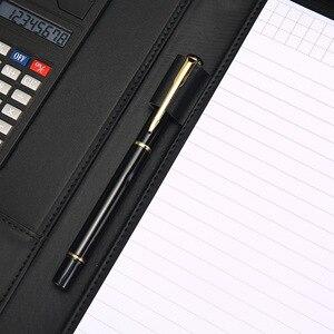 Image 5 - A4 Tập Tin Người Tổ Chức Danh Mục Đầu Tư Thư Mục Túi Tài Liệu Da PU Notepad Thẻ Đa Năng Đựng Bút Tập Tin Kẹp Máy Tính Bảng Ghi Nhớ