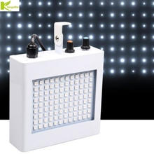 Kingoffer Portable Sound Control 108 RGB/ White SMD5050 LED Disco Party DJ Bar LED Strobe Lamp Music Show Projector Stage Light