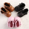 Cute Baby Girl Shoes Toddler Baby Moccasin Soft Sole First Walkers Prewalkers Casual Baby Shoes Infant High Boots