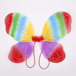 Image 5 - 42X31 センチメートルエルフ妖精の羽衣装翼蝶の羽供給衣装女の子クリスマスドレスアップパーティーコスプレ小道具妖精の羽