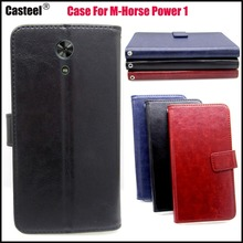 Casteel Classic Flight Series high quality PU skin leather case For M Horse M-Horse Power 1 Case Cover Shield