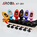 Aroma AT-201 high brightness dual color clip tuner for chromatic guitar bass ukulele violin