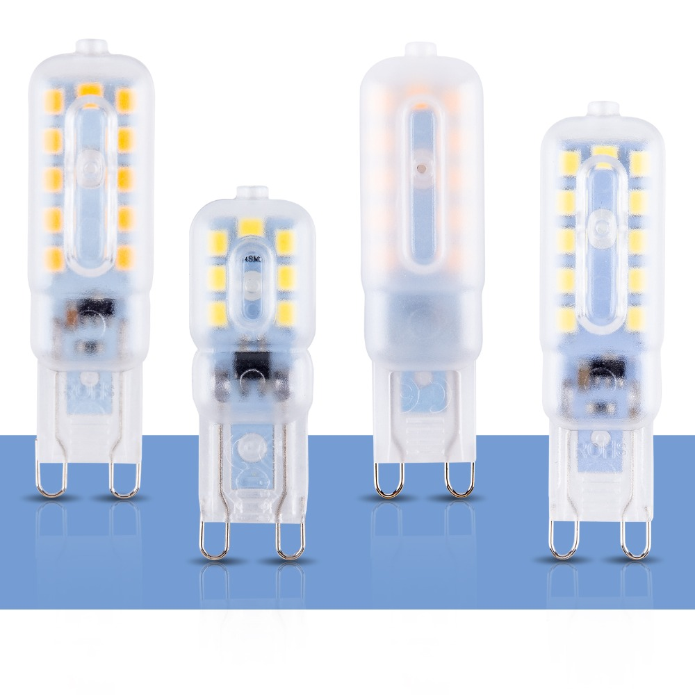 G9 Led 220V Light Bulbs G9 Led Lamp 3W 5W Ampoule Led G9 Bombillas 14 22leds Living Room Decoration Chandelier Home Lighting