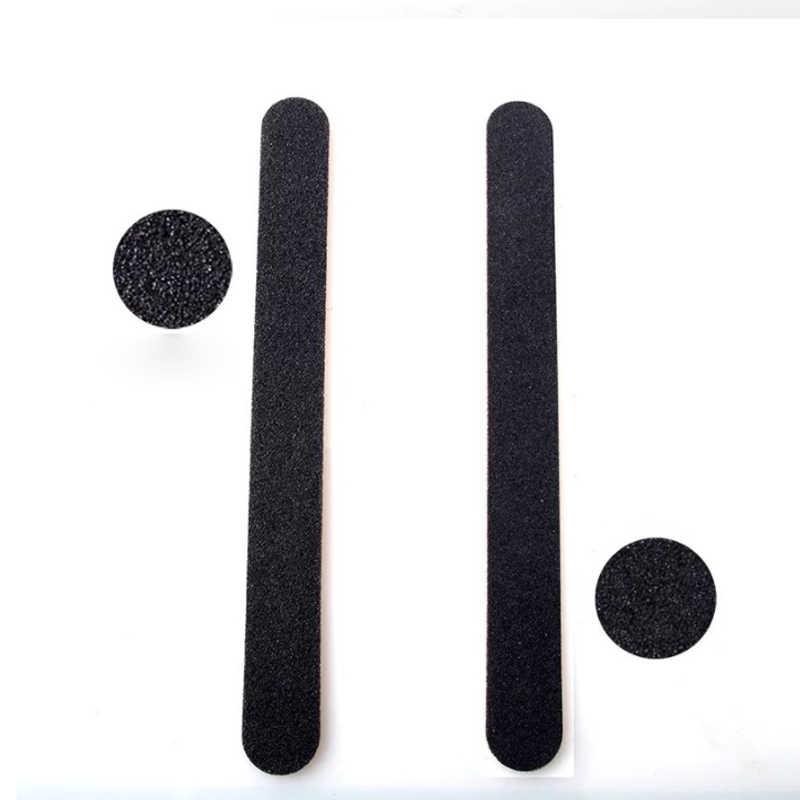 Lima de uñas de madera fuerte pulidor de uñas grueso lijado de papel de lija 100/180 pedicura uñas arte UV Gel pulidor herramienta de uñas