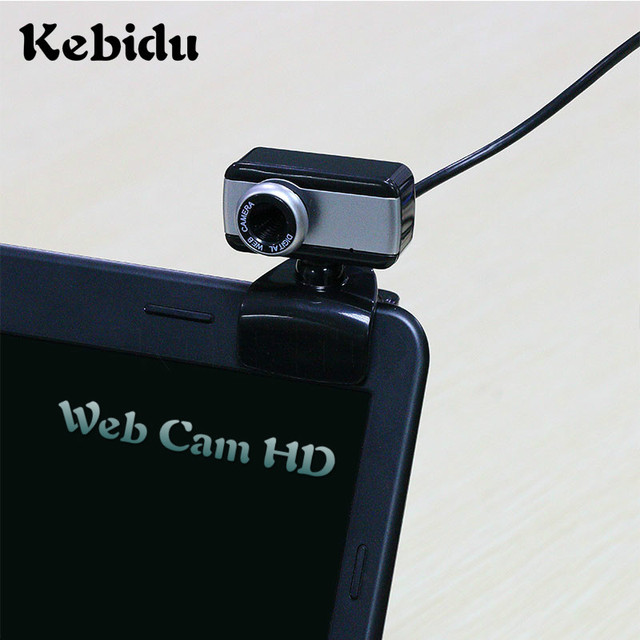 US $4 58 15% OFF|Kebidu Digital Web Cam HD USB 50M Mega Pixel Webcam  Stylish Rotate Camera With Mic Microphone Clip for PC Laptop Notebook  Comput-in