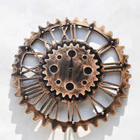 Creative Wall Hanging Decoration Wooden Gear Wall Ornaments Home Decoration Accessories Modern