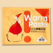 Air Activated Foot Warmer Sticker Self Heating body warming paste pads Toe  Winter Outdoor Camping Warming Pads
