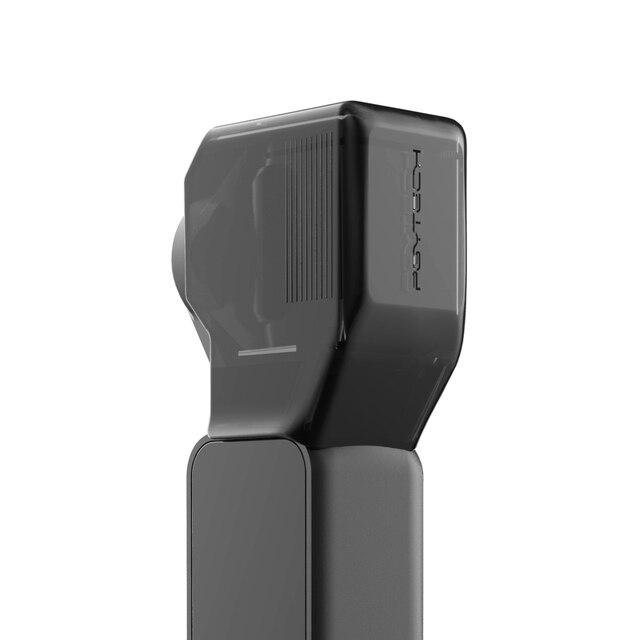 PGYTECH para DJI OSMO bolsillo cardán lente de la Cámara Protector cubierta tapa para DJI OSMO accesorios de bolsillo