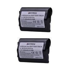 2 pièces 11.1 V 3200 mAh EN-EL4 EN EL4 EN-EL4a ENEL4a Caméra Batterie Batterie Akku pour Nikon D2H D2Hs D2X D2Xs D3 D3S F6 MH-21 Caméras