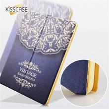KISSCASE Tableta Del Cuero Del Tirón Casos de la Cubierta Para el ipad mini 1 2 3 4 para el ipad de aire 1 2 Caso Del Soporte de la Manera Stents Shell Funda Cubierta Capa