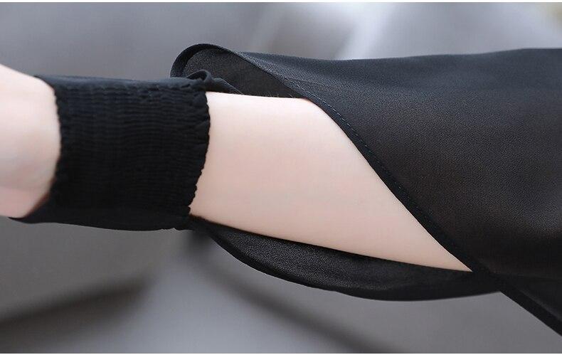 Bas À Set Blanc Wreeima noir Printemps Large Automne Des Ensemble Élégant Pièce Manches Pantalon Bureau 2 Décontracté Costumes Hauts Et En Longues Femmes CqwwE7I