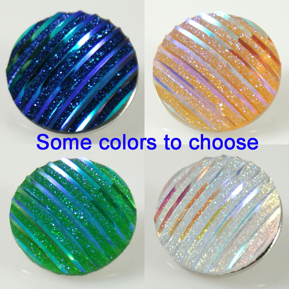 10pcs/lot wholesale DIY 18mm Acrylic snaps button with copper bottom for snaps bracelets fit ginger snaps jewelry KB2234