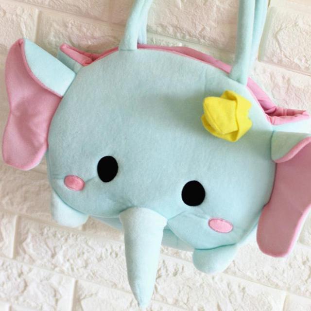 Kawaii Anime 30 cm Urso Pato Rato Elefante de Pelúcia Bonecas Presentes Boa Qualidade Saco Mochila De Pelúcia Brinquedo Macio Para Gils
