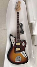 New Arrival classic Jaguar Electric Guitar Top quality in sunburst 170315