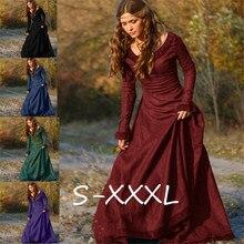 Средневековый винтажный костюм Виктории Пурим, карнавальный костюм эльфа, женское платье принцессы, ренессансный маскарадный костюм, женское средневековое платье