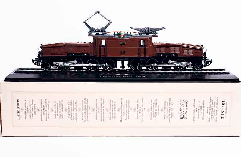 1:87 ATLAS LIMITED Ce 6/8 Ll Nr. 14253 (1919) Train Model In Perfect Condtion