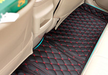 цена на For Toyota RAV4 2013 - 2016 Floor Mats Foot Pad Inner Auto Leather Carpet 1set New Arrival