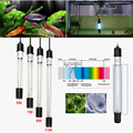 New Arrival UV Sterilizer Lamp Light Ultraviolet Filter Waterproof Water Cleaner For Aquarium Pond Coral Fish Tank 5W 7W 9W 11W