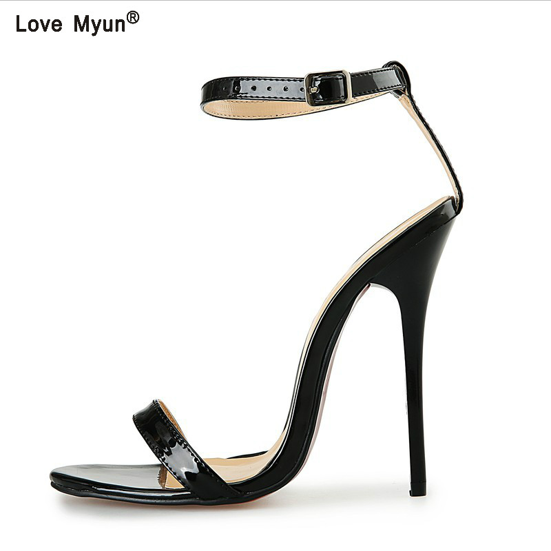 fashion women pumps ankle strap high heel pumps shoes for women sexy peep toe high heels sandals party wedding shoes woman taoffen women high heel shoes woman sexy transparent heels sandals ladies ankle strap party wedding shoes footwear size 31 47